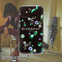 GIVENCHY☆FLORAL LOGO IPHONE XI CASE スマホケース 花柄