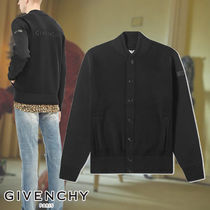 GIVENCHY☆3D LOGO WOOL VARSITY JACKET ジャケット ウール素材