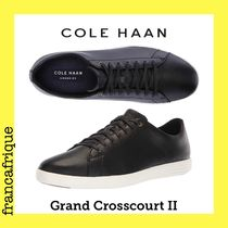 COLE HAAN☆Ground Crosscourt ll☆レザースニーカー☆ブラック