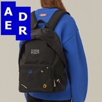 ★Adererror★Mask backpack II BLACK