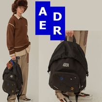 ★Adererror★Mask backpack BLACK