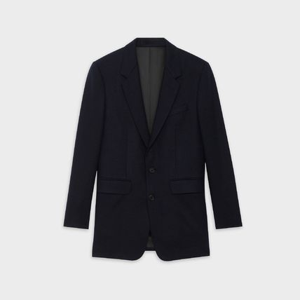 【CELINE】CLASSIC JACKET IN CASHMERE FLANNEL★カシミヤ