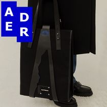 ★Adererror★Stone buckle tote bag BLACK