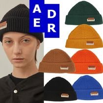 ★Adererror★Layered label beanie 6色