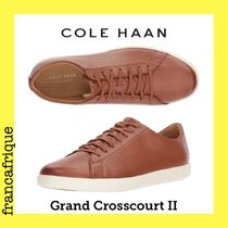 COLE HAAN☆Ground Crosscourt ll☆レザースニーカー☆ブラウン