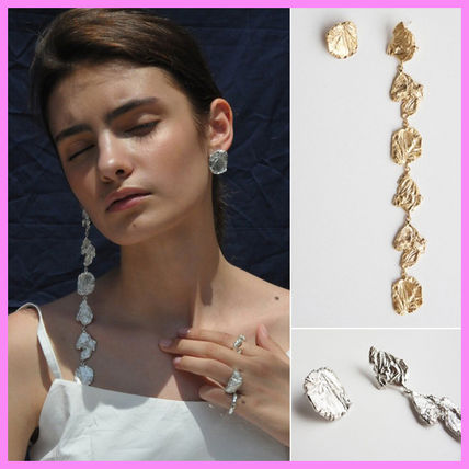 【goiu】earring 01〜アンバランスなピアス_GOLD or SILVER