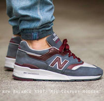 New Balance Men 997 MADE IN USA ヌバック Horween社製レザー