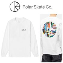 ★Polar Skate Co.★ MEMORYPALACEFILLロゴ長袖Tシャツ 国内発送