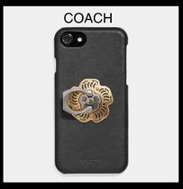 【COACH】Tea Rose Phone Grip  バンカーリング