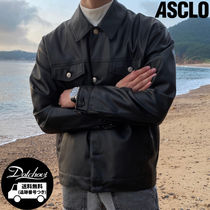 ASCLO Knock Premium Leather Jacket YJ232 追跡付