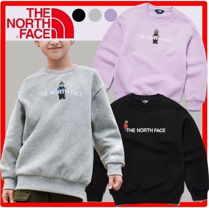 THE NORTH FACE(ザノースフェイス) キッズ用トップス ☆人気☆THE NORTH FACE☆K'S BRUSHED OSO GRAPHIC SWEATSHIRTS