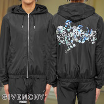 GIVENCHY☆FLORAL BACK LOGO WINDBREAKER ウインドブレーカー
