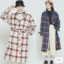 ROMANTIC CROWN★CROSS CHECK TRENCH COAT 2色