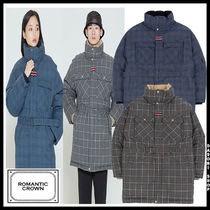 20FW ★ROMANTIC CROWN★兼用 CHESTERFIELD CHECK PARKA ダウン