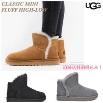最終セール!追跡あり☆UGG☆CLASSIC MINI FLUFF HIGH-LOW