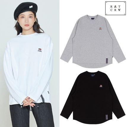 ROMANTIC CROWN Tシャツ・カットソー ROMANTIC CROWN★SUNDAY SYNDROME LONG SLEEVE 3色
