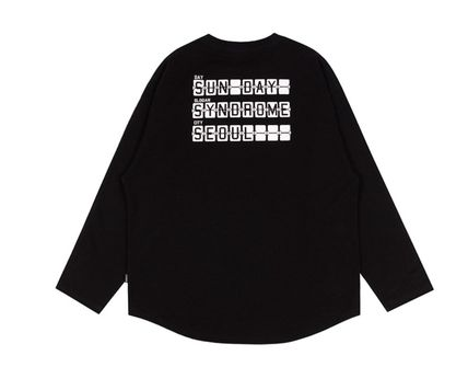 ROMANTIC CROWN Tシャツ・カットソー ROMANTIC CROWN★SUNDAY SYNDROME LONG SLEEVE 3色(14)