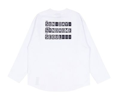 ROMANTIC CROWN Tシャツ・カットソー ROMANTIC CROWN★SUNDAY SYNDROME LONG SLEEVE 3色(18)