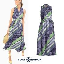 【国内即発】セール♪Tory Burch Overprinted Wrap Dress