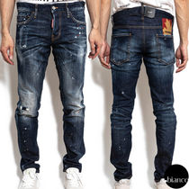関税込DSQUARED2 2020FW Dark iPhone Wash Slim Jeans ダメージ