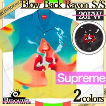 20FW /Supreme Blow Back Rayon S/S Shirt レーヨン シャツ 総柄