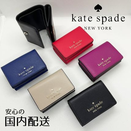 kate spade☆micro tri fold wallet コンパクトウォレット☆送込
