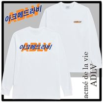 ★関税込★acme' de la vie★HANGUL LOGO LONG SLEEVE T-SHIRT★