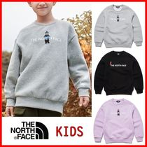 ☆THE NORTH FACE☆K'S BRUSHED OSO GRAPHIC SWEATSHIRTS☆