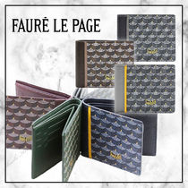 ◆Faure Le Page 20SS最新作◆6CC WALLET ETENDARD◆6色展開