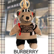 ★BURBERRY★Thomas icon keyring かわいいテディベア♪