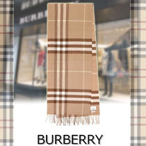 ★BURBERRY★Giant Check scarf 人気バーバリーチェック柄♪