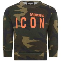 2020AW DSQUARED2 Baby ICONロゴカモフラスウェット KH (CP-36m)