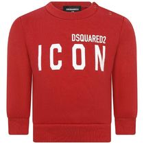 2020AW DSQUARED2 Baby ICONロゴスウェット RED (CP-36m)
