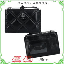 ★MARC JACOBS★THE QUILTED SOFTSHOT TOP ZIP MULTI WALLET