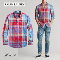 【Polo Ralph Lauren】Classic Fit Madras shirt マドラスシャツ