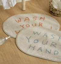 deco view ★ WASH YOUR HANDS ソフト マット 2color