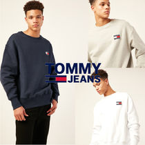 TOMMY JEANSトミージーンズ TOMMY BADGE TERRY トレーナー 3色