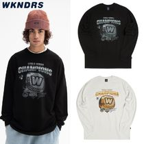 ●WKNDRS● 20F/W  COLLEGE RING LS T-SHIRT 2色