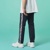 [ FILA ] Heritage Linear Tape Track Pants Ink navy
