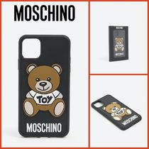 MOSCHINO『関税込み』Teddy Toy iPhone 11 maxケース I017