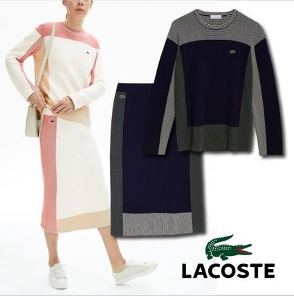 LACOSTE セットアップ ◆送料込◆最終SALE◆【ラコステ】コットンニットセットアップ