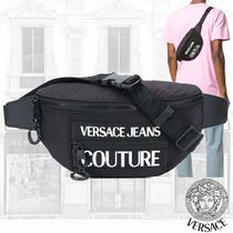 20AW Versace Jeans Couture メンズ ボディバッグプリントポーチ