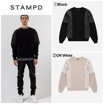 【STAMPD】☆新作☆袖 取り外し可能☆SECTIONAL SWEATER