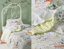 Anthropologie X Katie Vernon Wilderness Map Kids Quilt