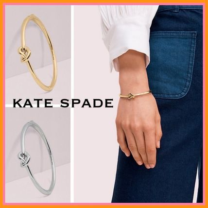 ★kate spade★loves me knot bangle★結び目がキュート♡
