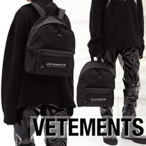 20AW VETEMENTSヴェトモン Haute Coutureナイロンバックパック