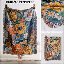 Urban Outfitters ☆リバーシブルブランケット☆ 花柄