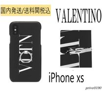 送料関税込【VALENTINO】VLTN IPHONE XSケース