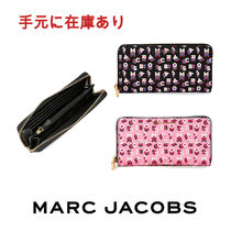 ◎MARC JACOBS◎Logo Print Continental Wallet ウォレット