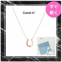 【canal 4℃】K10ピンクゴールド ネックレス